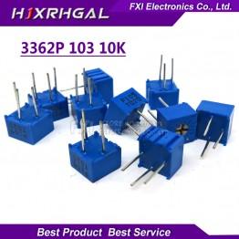 53.91 руб. 8% СКИДКА 10 шт. 3362P 1 103LF 3362 P 10 К Ом 3362P 1 103 3362P 103 3362 P103 103 Подстроечный резистор Триммер Потенциометр переменный резистор-in Потенциометры from Электронные компоненты и принадлежности on Aliexpress.com   Alibaba Group