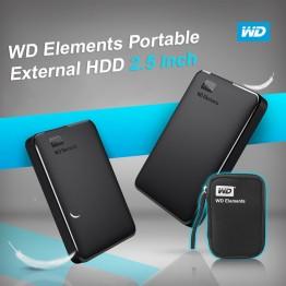 US $55.08 22% OFF|Western Digital WD Elements Portable HDD External hdd 1TB  2TB HDD 2.5