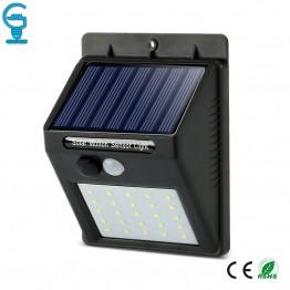 474.34 руб. 25% СКИДКА|Солнечный свет PIR датчик движения настенный светильник светодиодный водостойкий светодиодный солнечный светильник Экономия энергии открытый сад безопасность лампа купить на AliExpress