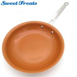 US $11.69 10% OFF Sweettreats Non stick Copper Frying Pan with Ceramic Coating and Induction cooking,Oven & Dishwasher safe -in Pans from Home & Garden on Aliexpress.com   Alibaba Group