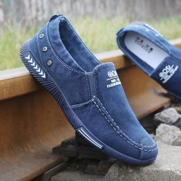 US $12.76 60% OFF|Fashion Men Canvas Shoes Male Summer Casual Denim Shoes Mens Sneakers Slip On Loafers Driving Moccasin Chaussure Homme Black-in Men's Casual Shoes from Shoes on Aliexpress.com | Alibaba Group