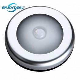 172.37 руб. 40% СКИДКА|Светодио дный 1 шт. 6 led PIR датчик движения тела активированный настенный светильник ночник Индукционная лампа шкаф коридор кабинет светодио дный светодиодный датчик света купить на AliExpress