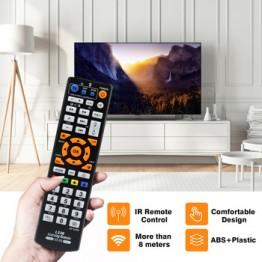 Универсальный умный ИК-пульт дистанционного управления с функцией обучения, 3 страницы, копия контроллера для ТВ STB DVD SAT DVB HIFI TV BOX, L336