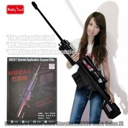 811.79 руб. 31% СКИДКА 100% новый масштабируется Barrett M82A1 12,7 мм снайперская винтовка 3D Бумага модель Косплей оружие Детские Взрослые пистолет Книги об оружии Бумажные модели пистолет игрушки-in Всё для фотобудок from Дом и сад on Aliexpress.com   Alibaba Group