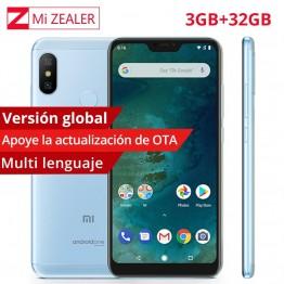 9137.62 руб. |Глобальная версия Xiaomi Mi A2 Lite 3 ГБ ОЗУ 32 Гб ПЗУ мобильный телефон Snapdragon 625 Восьмиядерный 5,84