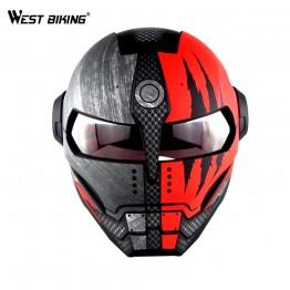 6478.59 руб. 49% СКИДКА|WEST BIKING персонализированные анфас шлем велосипеда шлем для мотоспорта, мотокросса Винтаж для верховой езды Съемная шлем для велоспорта шлем-in Велосипедный шлем from Спорт и развлечения on Aliexpress.com | Alibaba Group