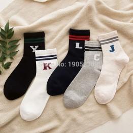 42.76 руб. 24% СКИДКА|Новый стиль Роскошные одноцветное Цвет Носки для девочек хлопок Для мужчин моды в носки без пятки Зимняя мужская Повседневное Бизнес Дышащие носки для мальчиков купить на AliExpress