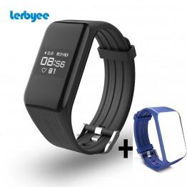€ 34.07 |Lerbyee Tracker de Fitness K1 Bracelet intelligent moniteur de fréquence cardiaque en temps réel montre intelligente Tracker d'activité pour sport iOS Android-in Smart Bracelets from Electronique on Aliexpress.com | Alibaba Group