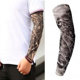 66.07 руб. 26% СКИДКА Фальшивая, временная татуировка рукава татуировки Полный Длинный слипоны Татуировка