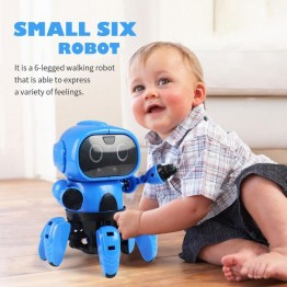 1267.07 руб.  DIY сборка электрический умный индукционный RC робот игрушка модель набор со следующим жестом датчик инфракрасного предотвращения препятствий-in Трансформеры и игрушки from Игрушки и хобби on Aliexpress.com   Alibaba Group