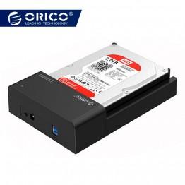 1627.96 руб. 30% СКИДКА|2,5 3,5 дюймовый HDD SSD док станции USB3.0 SATA внешний жесткий диск вспомогательное устройство 8 ТБ диск инструмент Бесплатный (6518US3) купить на AliExpress