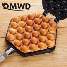 US $10.7 10% OFF|DMWD QQ Egg Bubble Cake Baking Pan Mold Eggettes Iron Aluminum Hongkong Waffle Maker Mould Non stick Coating DIY Muffins Plate-in Waffle Maker Parts from Home Appliances on Aliexpress.com | Alibaba Group