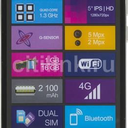 Смартфон DIGMA VOX S513 4G,  черный