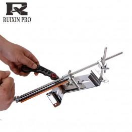 1198.41 руб. 25% СКИДКА Новое обновление Железный стальной нож точилка для кухонных ножей точилка для заточки фиксированный угол с камнями купить на AliExpress
