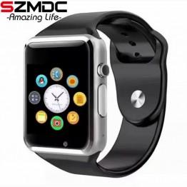 685.39 руб. 49% СКИДКА|SZMDC A1 Смарт часы с Шагомер Камера sim карта TF вызова Smartwatch для Xiaomi huawei htc Android телефон лучше, чем Y1 DZ09 купить на AliExpress
