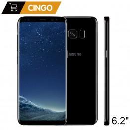 19793.25 руб. 23% СКИДКА|Оригинальный samsung Galaxy S8 плюс SM G955F 4 ГБ Оперативная память 64 ГБ Встроенная память 6,2