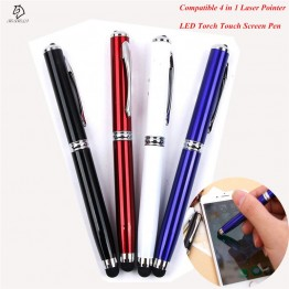 US $0.88 15% OFF|Compatible 1pc 4 in 1 Laser Pointer LED Torch Touch Screen Stylus Ball Pen for iPhone for Ipad for Samsung Portable-in Ballpoint Pens from Office & School Supplies on Aliexpress.com | Alibaba Group