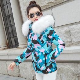 1446.35 руб. 20% СКИДКА|Парка женская 2019 зимняя куртка женская куртка с капюшоном Женская куртка Толстая хлопковая подкладка зимние женские пальто-in Парки from Женская одежда on Aliexpress.com | Alibaba Group