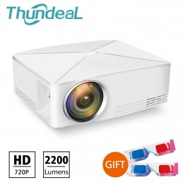 4970.8 руб. 30% СКИДКА ThundeaL GP70 Upgrade TD80 мини светодиодный проектор 1280x720 портативный HD HDMI видео C80 3D lcd (C80 до Android Проектор Wi Fi опционально)-in Проекторы from Компьютер и офис on Aliexpress.com   Alibaba Group
