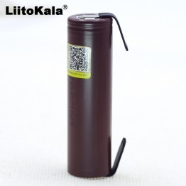205.62 руб. 21% СКИДКА|Liitokala для HG2 18650 3000 мАч электронная сигарета перезаряжаемый аккумулятор Высокая разряда, 30A высокий ток + DIY nicke купить на AliExpress
