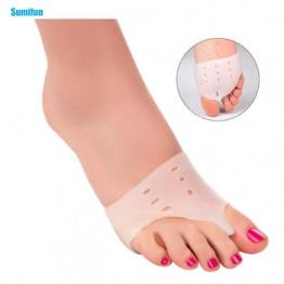 2 шт. исправление вальгусной деформации первого пальца стопы ортопедии ногу массажер разделитель для пальцев ноги корректирующие стельки д...