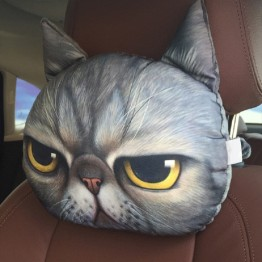 US $4.04 19% OFF|CHIZIYO New Cool Lovely 3D Printed Animals Face Car Headrest Pillowcase Neck Auto Safety Headrest Supplies Without Filling-in Neck Pillow from Automobiles & Motorcycles on Aliexpress.com | Alibaba Group