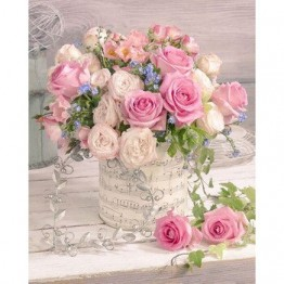 """Полностью квадратная/круглая Алмазная картина, вышивка крестиком """"Розовая роза"""", цветы 5D, сделай сам, вышивка стразами, мозаика, домашний дек..."""