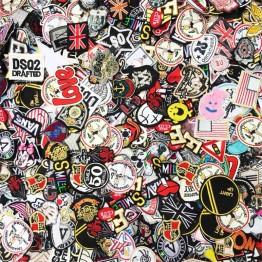 467.44 руб. 10% СКИДКА 100 шт/партия случайный смешанный Железный На и пришить нашивки значка для модных украшения из ткани швейная ткань рюкзак Швейные Аппликации-in Заплатки from Дом и сад on Aliexpress.com   Alibaba Group