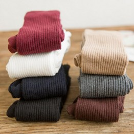 US $2.56 26% OFF|1 Pair Women Girl Over Knee High Socks Spring Autumn Winter Warm Knit Soft Thigh High Long Socks solid color loose socks-in Stockings from Underwear & Sleepwears on Aliexpress.com | Alibaba Group
