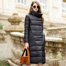 US $47.26 57% OFF Duck Down Jacket Women Winter 2018 Outerwear Coats Female Long Casual Light ultra thin Warm Down puffer jacket Parka branded-in Down Coats from Women's Clothing on Aliexpress.com   Alibaba Group