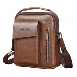 825.53 руб. 50% СКИДКА Лидер продаж, модная мужская сумка на плечо, деловые сумки мессенджеры, винтажные сумки через плечо, повседневные высококачественные деловые мужские сумки с ручками on Aliexpress.com   Alibaba Group