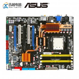 Asus M3N HT Делюкс Desktop материнских плат NVIDIA nForce 780a SLI Socket AM2/2 + Поддержка феномен Athlon Sempron DDR2 8 ГБ SATA2 ATX купить на AliExpress