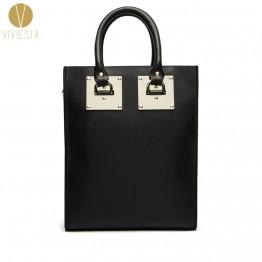4302.23 руб. 15% СКИДКА|Натуральная кожа металлическая пластина большая структурная Сумка тоут женская 2019 модная известная брендовая сумка для покупок сумка на плечо-in Сумки с ручками from Багаж и сумки on Aliexpress.com | Alibaba Group