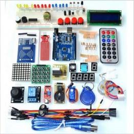 1237.63 руб. 12% СКИДКА Бесплатная доставка Модернизированный Расширенный версия Starter Kit RFID узнать Люкс комплект ЖК дисплей 1602 для Arduino UNO R3-in Интегральные схемы from Электронные компоненты и принадлежности on Aliexpress.com   Alibaba Group