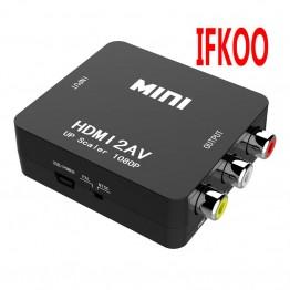 US $6.95 26% OFF|HDMI TO AV CVBS to MINI  HDMI Adapter HD 720P 1080P AV2HDMI  Video Converter on Aliexpress.com | Alibaba Group