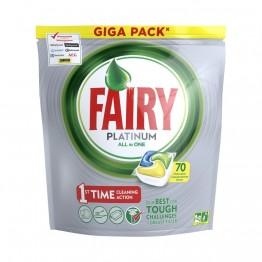 2089.09 руб. |Капсулы для посудомоечной машины Fairy Platinum Лимон (70 штук) купить на AliExpress