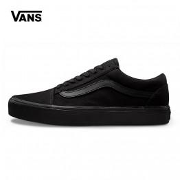 Оригинальный Новое поступление Vans Для мужчин и Для женщин классический Old Skool Lite с низким берцем Скейтбординг Уличная обувь парусиновые кроссовки VN0A2Z5W186 купить на AliExpress