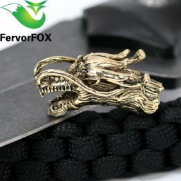 US $1.69 15% OFF 1PC Chinese dragon Metal Beads Camping Alloy For Outdoor Knife Bracelet DIY Paracord Accessories-in Paracord from Sports & Entertainment on Aliexpress.com   Alibaba Group