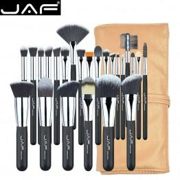€ 16.29 29% de DESCUENTO|JAF 24 unids Profesional Brochas para Maquillaje Conjunto de Alta Calidad Componen Cepillos Función Completa de Estudio de maquillaje Kit de Pinceles de Maquillaje J2404YC B-in rizador de pestañas from Belleza y salud on Aliexpress.com | Alibaba Group