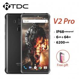 18407.39 руб. |Vernee V2 Pro IP68 Водонепроницаемый смартфон 5,99