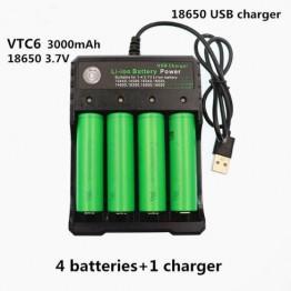 1019.81 руб. 35% СКИДКА|4 шт. Daweikala Оригинал 3,7 в 3000 мАч Liion 18650 батарея для SONY us18650 vtc6 3000 мАч 18650 Батарея 3,7 в + 1 шт. зарядное устройство-in Подзаряжаемые батареи from Бытовая электроника on Aliexpress.com | Alibaba Group