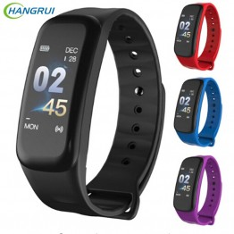 € 11.35 |Hangrui C1 Plus bande intelligente Sport Fitness Tracker moniteur de fréquence cardiaque Bracelet bande intelligente montre bracelet Bracelet PK Mi bande 3-in Smart Bracelets from Electronique on Aliexpress.com | Alibaba Group