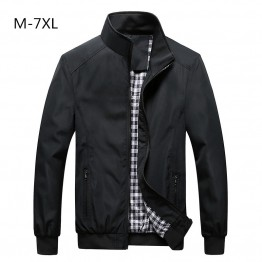 US $25.98 |Free Shipping Bomber Solid Jacket Men Casual Spring Sportswear Motorcycle Mens Jackets for Male Coats Plus Size 4XL 5XL 6XL 7XL-in Jackets from Men's Clothing on Aliexpress.com | Alibaba Group