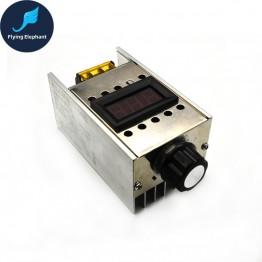 587.25 руб. 10% СКИДКА AC220V 4000 Вт диммер высокой Мощность SCR BTA41 600B электронный Напряжение регулятор + цифровой Дисплей для приглушенного света Скорость термостат купить на AliExpress