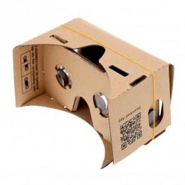 136.75 руб. 5% СКИДКА DIY Google Cardboard виртуальной реальности VR мобильный телефон 3D очки для просмотра 5,0