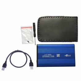 274.09 руб. 16% СКИДКА HDD корпус Внешний USB 2,0 на жесткий диск Sata 2,5