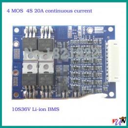 321.49 руб.  4S 20A 16,8 V постоянного тока до 10 S 36 V BMS PCM литий ионная аккумуляторная батарея Защитная плата для 18650 103450 17500 16670 ионно литиевая аккумуляторная батарея-in Интегральные схемы from Электронные компоненты и принадлежности on Aliexpress.com   Alibaba Group