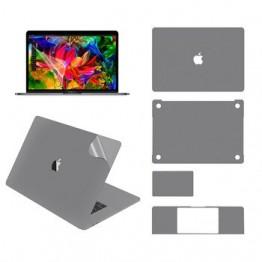 Полный корпус кожи для MacBook Pro 15 дюймов модель A1707/A1990, с верхней кожей, нижняя кожа, тачпад кожи, подставка для рук кожи, пленка для экрана