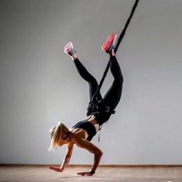 6567.73 руб. 25% СКИДКА|Gravity Yoga банджи танцевальная подвеска тренировка тренажер оборудование для тренажерного зала фитнеса Сопротивление Группа Обучение-in Эспандеры from Спорт и развлечения on Aliexpress.com | Alibaba Group