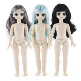 1/6 BJD куклы 28 см куклы OB с 4D глазами Сменные 21 совместный подвижный куклы для детей игрушки детские игрушки для девочек детские куклы
